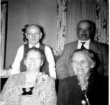 Alois, Walburga, Jacob and Mamie Metz