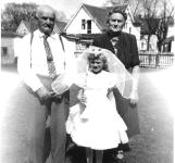 Jacob and Mamie Metz with Granddaughter Jeanne